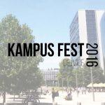 KampusFest Dejvice 2016